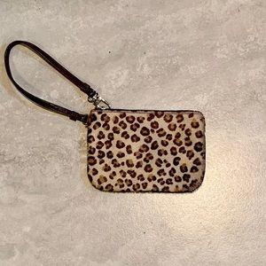 Express | Leopard Print Wristlet